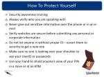 how to protect yourself42