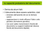 la capacit probatoria del documento