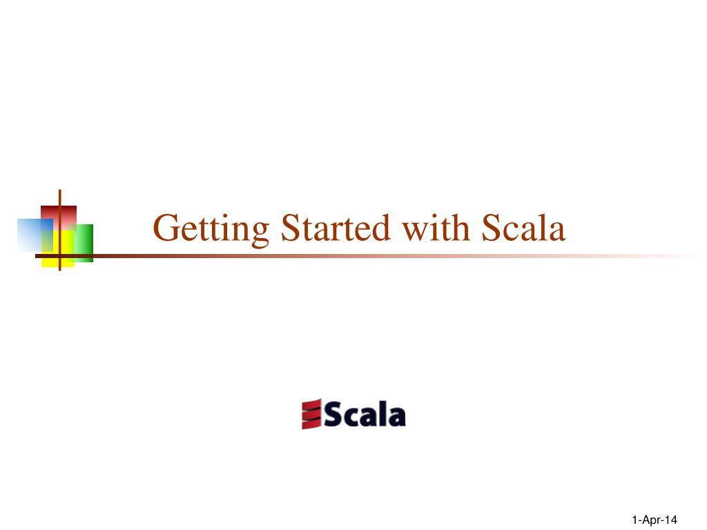 getting started with scala l.