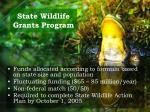 state wildlife grants program12