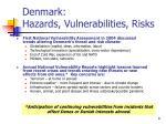 denmark hazards vulnerabilities risks8