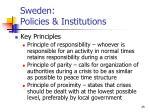sweden policies institutions25