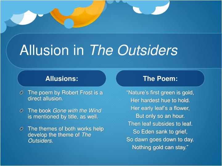 Ppt Literary Term Allusion Powerpoint Presentation Id531294