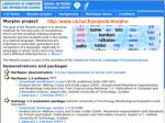 morpho project page