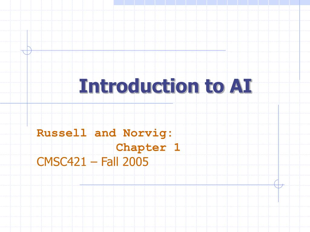 introduction to ai l.