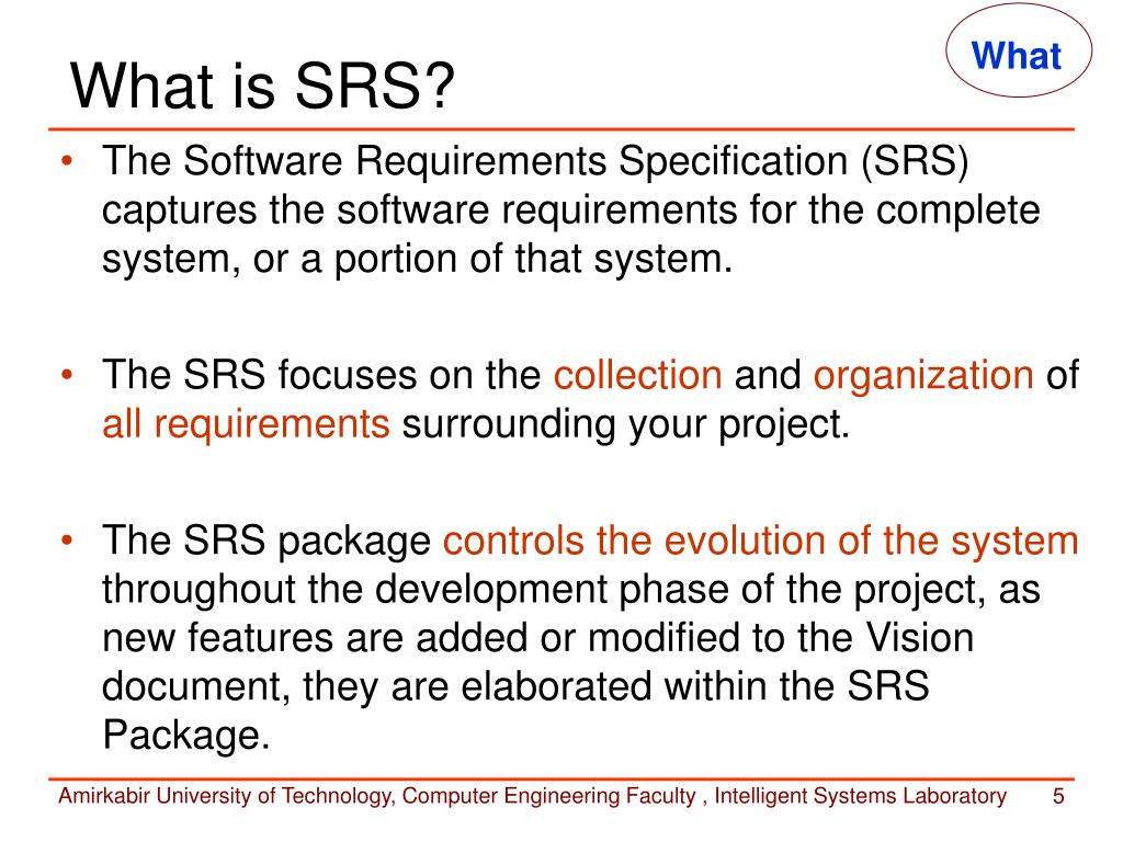 What Is Srs >> Ppt Requirements Specification Powerpoint Presentation Id 53139