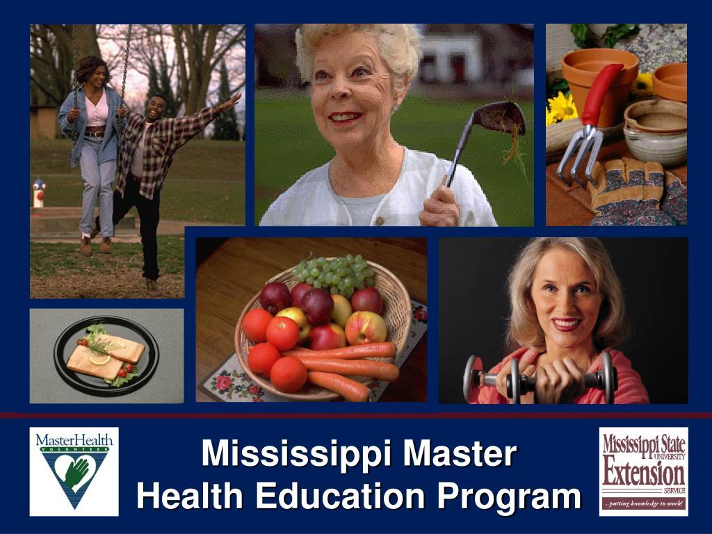 mississippi master health education program l.