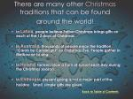 there are many other christmas traditions that can be found around the world