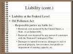 liability cont