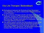 vita life therapie biofeedback