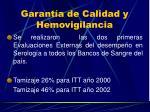 garant a de calidad y hemovigilancia19