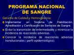 programa nacional de sangre16