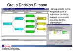 group decision support