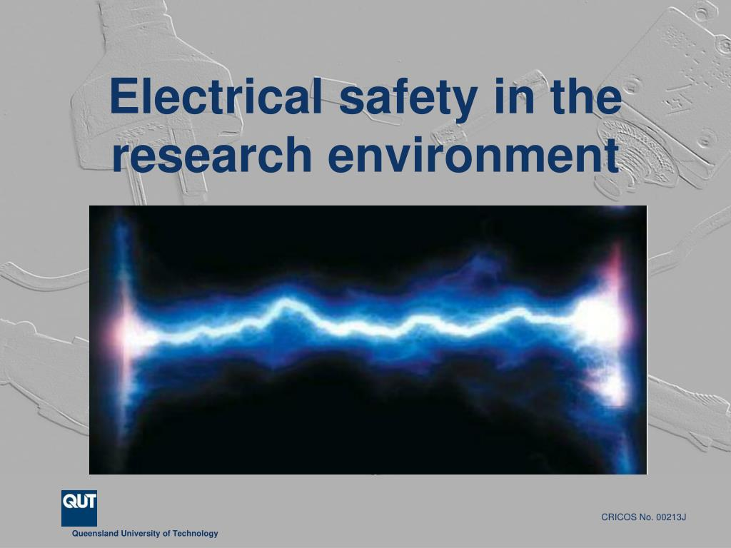 electrical safety in the research environment l.