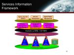 services information framework