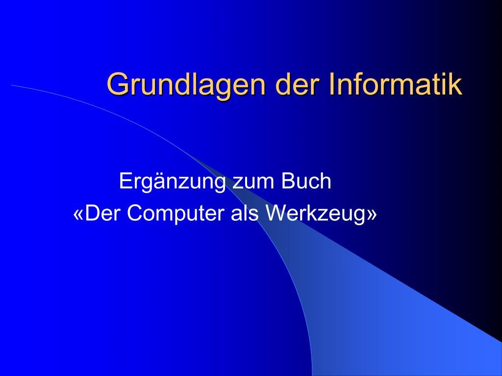 grundlagen der informatik l.