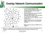 overlay network communication
