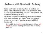 an issue with quadratic probing