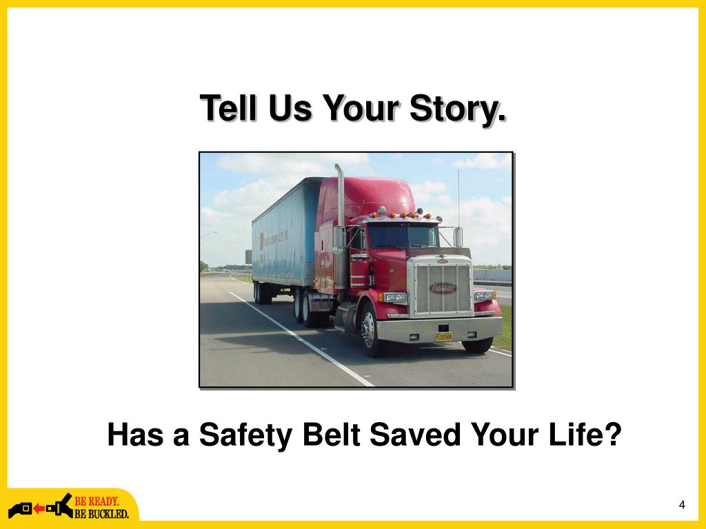 Tell Us Your Story.