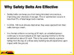 why safety belts are effective19