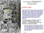 aerial view of the temple mount northern conjecture dr asher kaufman