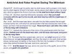 antichrist and false prophet during the millenium87