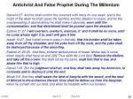 antichrist and false prophet during the millenium88