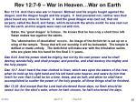 rev 12 7 9 war in heaven war on earth
