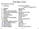 the man of sin93