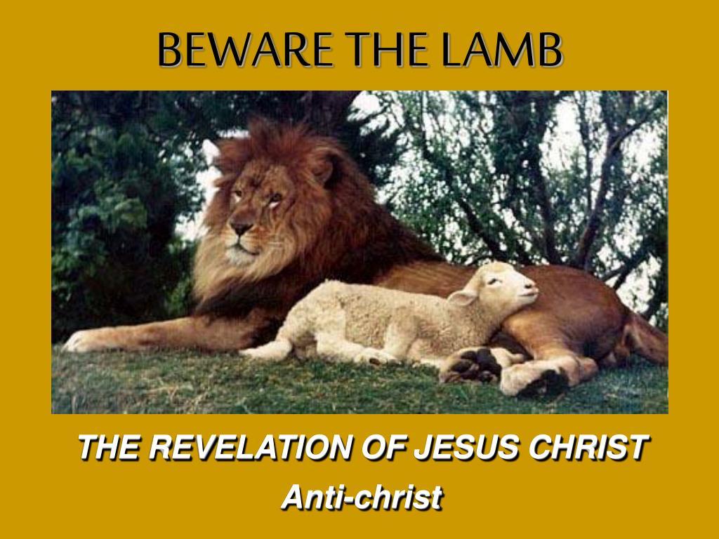 the revelation of jesus christ l.