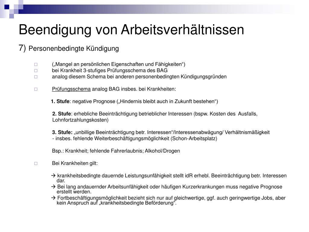 Ppt Arbeitsrecht Powerpoint Presentation Id531611