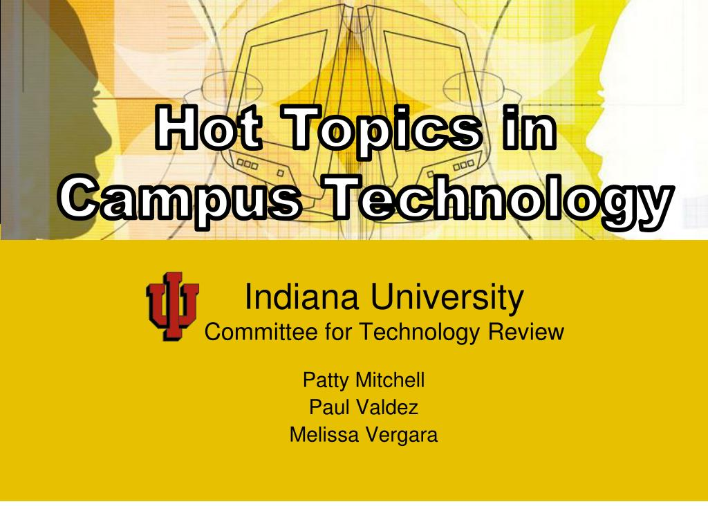 indiana university committee for technology review l.