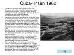 cuba krisen 1962