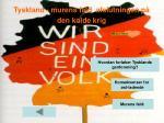 tyskland murens fald afslutningen p den kolde krig