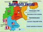 tysklands deling