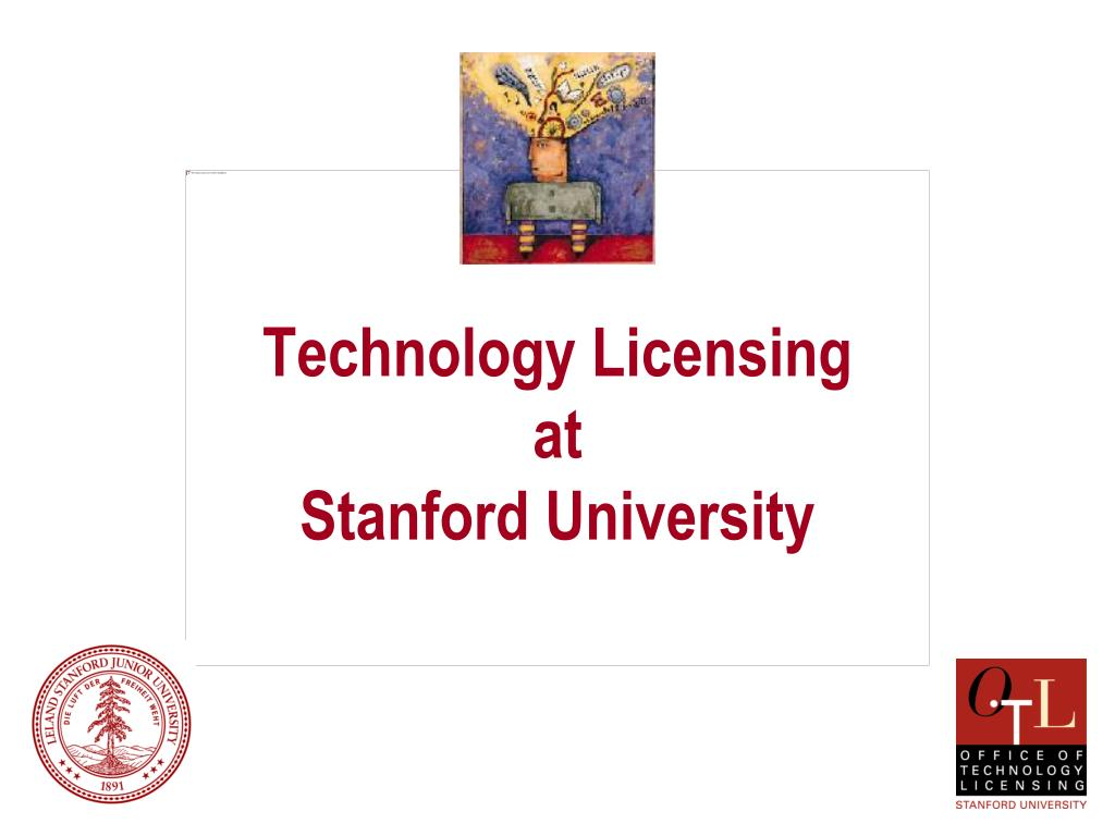 technology licensing at stanford university l.