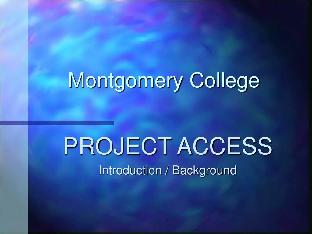 montgomery college l.