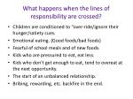 what happens when the lines of responsibility are crossed