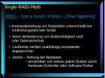 single raid modi