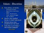 islam doctrine