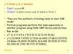 1 3 form y x vectors