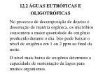 12 2 guas eutr ficas e oligotr ficas14