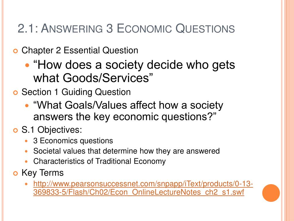 PPT - Ch  2: Economic Systems PowerPoint Presentation - ID:531727