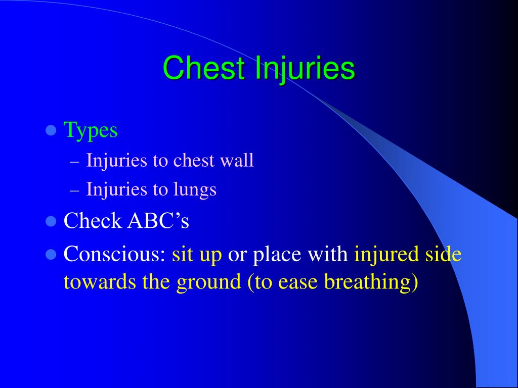 chest injuries l.