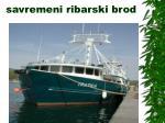 savremeni ribarski brod