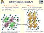 antiferromagnetic structure