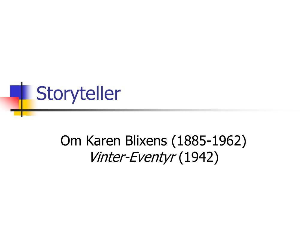 storyteller l.