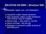 belcotax on web structuur xml31
