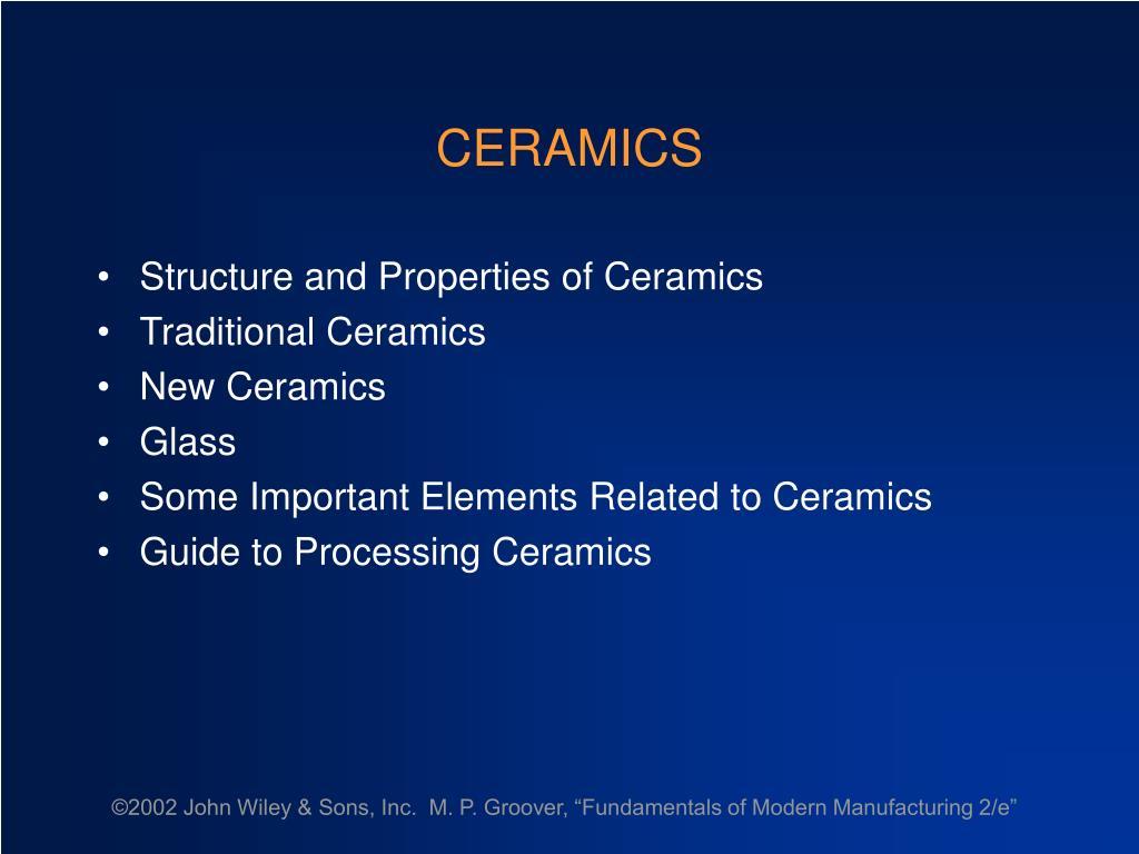ceramics l.