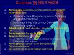 darlehen 983 ff abgb